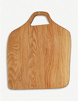 THE CONRAN SHOP: Square oak chopping board 34cm x 41cm