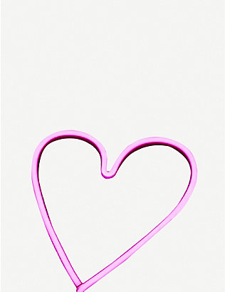 THE CONRAN SHOP: A Little Lovely Company neon heart light 30cm