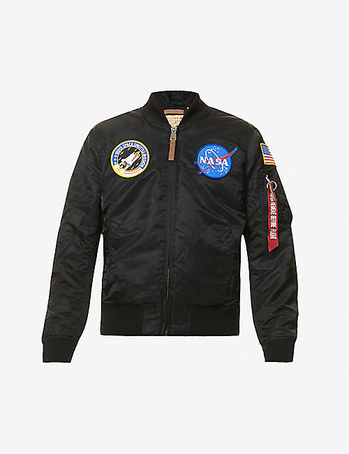 ALPHA INDUSTRIES: MA-1 Nasa shell bomber jacket