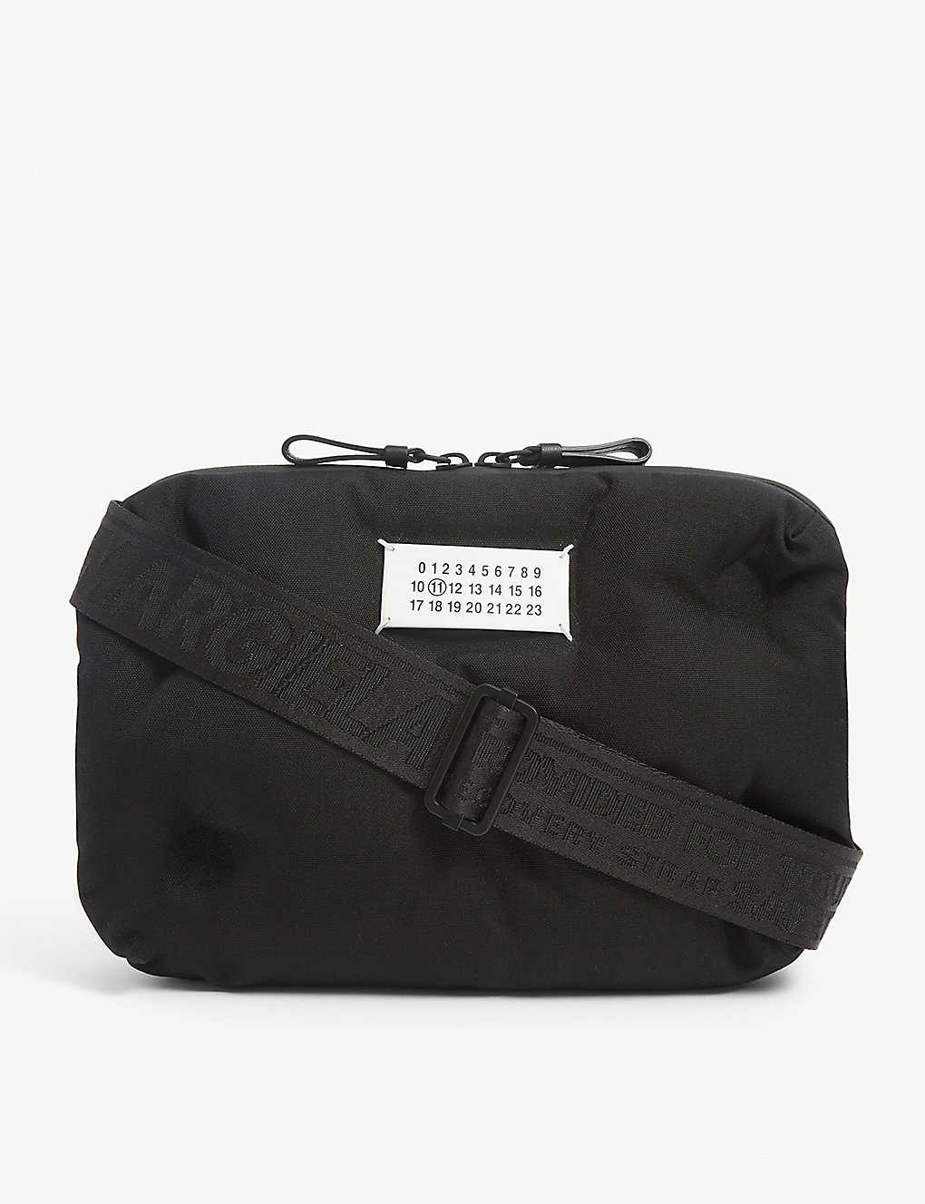 MAISON MARGIELA: Quilt quilted nylon crossbody bag