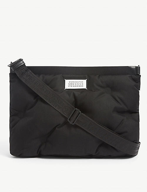 MAISON MARGIELA: Quilted nylon tote bag