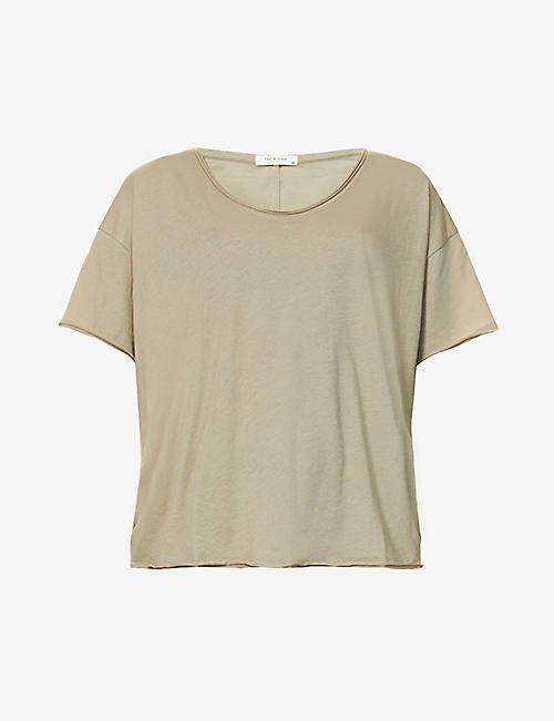 RAG & BONE: The Gaia organic-cotton jersey T-shirt
