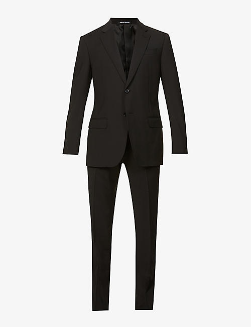 EMPORIO ARMANI: Slim-fit two-piece wool suit