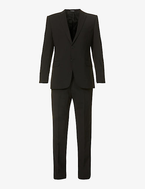EMPORIO ARMANI: Slim-fit wool suit