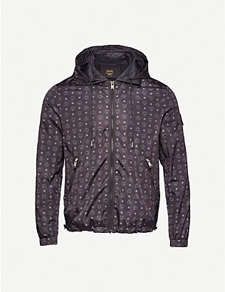 MCM: Collection logo-print shell jacket