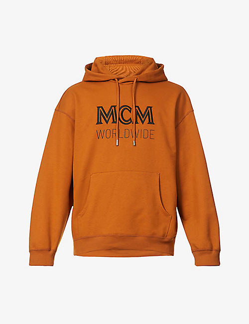 MCM: Branded cotton-jersey hoody