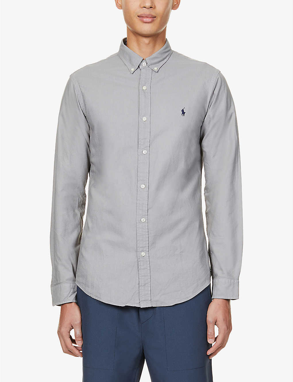 POLO RALPH LAUREN: Slim-fit cotton Oxford shirt