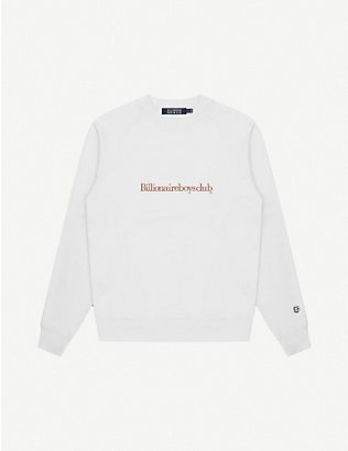 BILLIONAIRE BOYS CLUB: Logo-print cotton sweatshirt