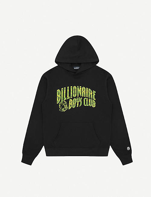 BILLIONAIRE BOYS CLUB Arch logo-print cotton-jersey hoody