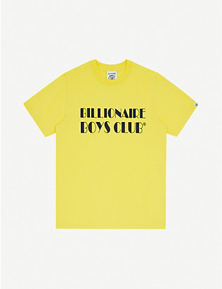BILLIONAIRE BOYS CLUB: Logo-print cotton T-shirt