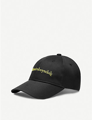 BILLIONAIRE BOYS CLUB: Logo-embroidered cotton-canvas baseball cap