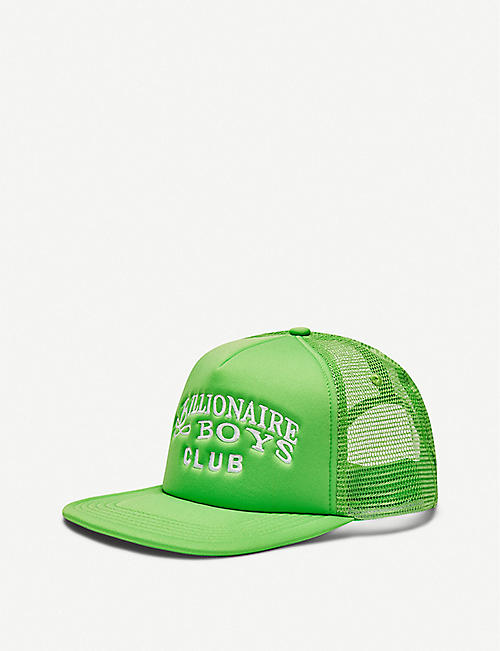 BILLIONAIRE BOYS CLUB: Logo-embroidered shell and mesh baseball cap