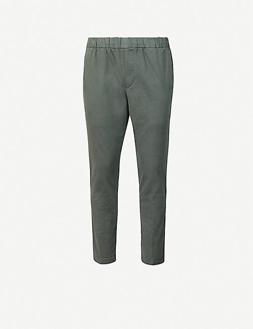 J BRAND: Spadium straight cotton-blend jogging bottoms