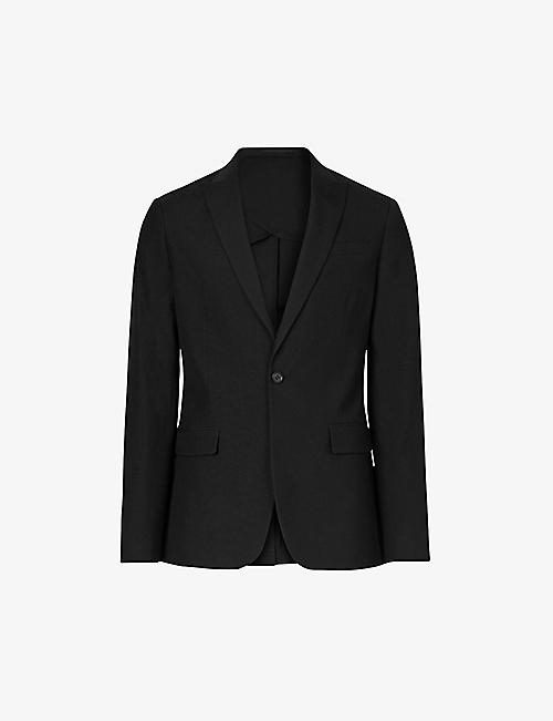 ALLSAINTS: Kennel slim-fit wool blazer