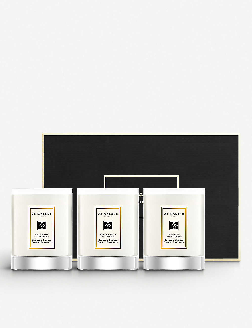 JO MALONE LONDON: Travel Candle Collection 3x60g