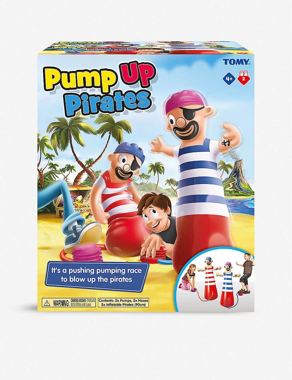 BOARD GAMES: TOMY Pump Up Pirate game
