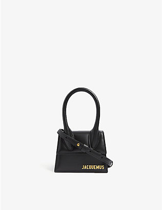 JACQUEMUS: Le Chiquito leather top handle bag