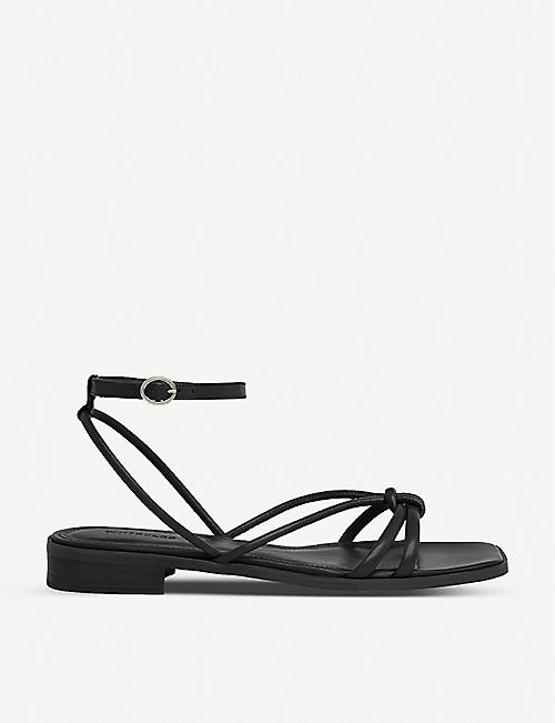 WHISTLES: Roya low-heeled leather sandals