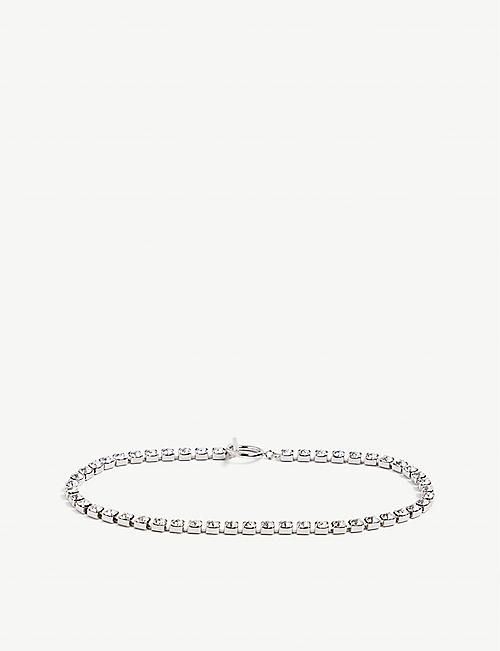 ISABEL MARANT: Ras Du Cou silver-tone and glass crystal necklace​