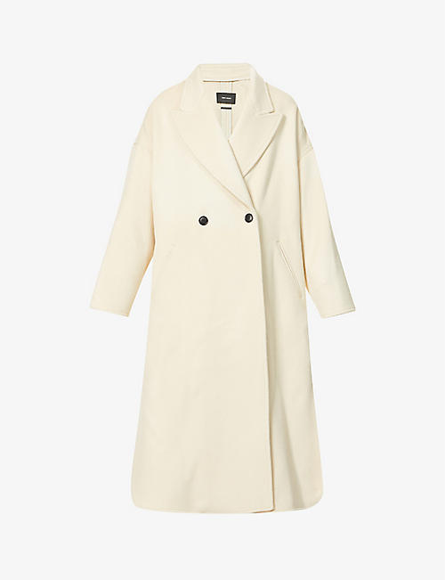 ISABEL MARANT: Elliot wool-blend coat