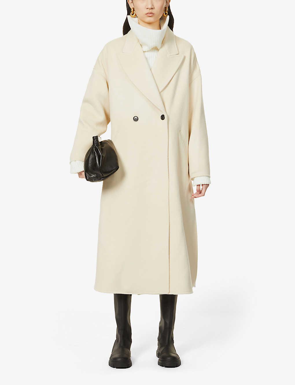 ISABEL MARANT: Elliot wool-blend coat