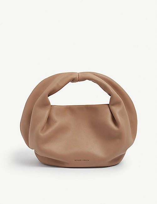 DANSE LENTE: Lola leather tote bag