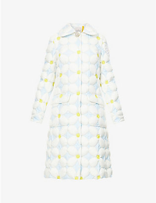 MONCLER GENIUS: Moncler Genius x Richard Quinn Candice checked woven jacket
