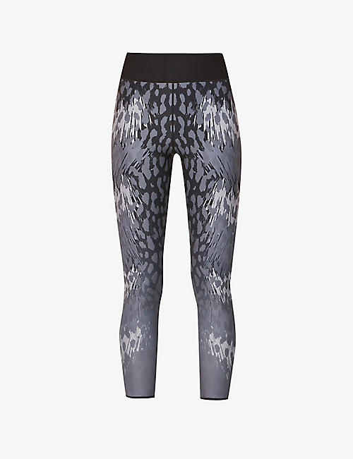 ULTRACOR: Ocelot stretch-woven leggings