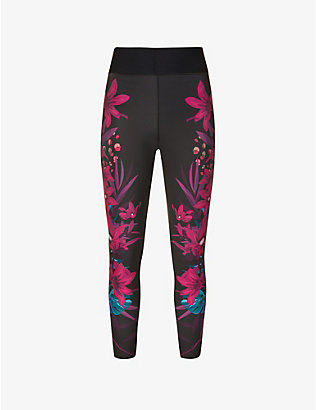 ULTRACOR: Bouquet high-rise stretch-jersey leggings