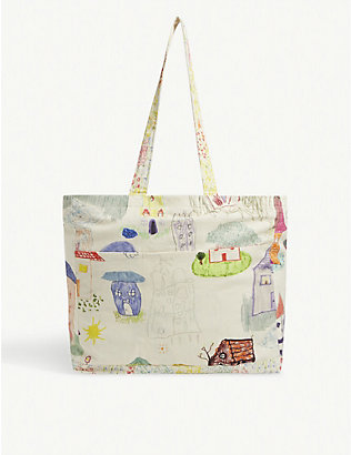 COLLINA STRADA: Home and Garden canvas tote bag