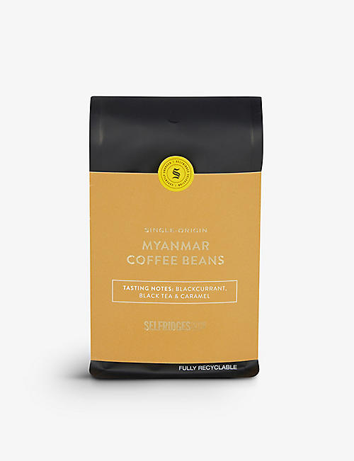 SELFRIDGES SELECTION: Single Origin Myanmar coffee beans 250g