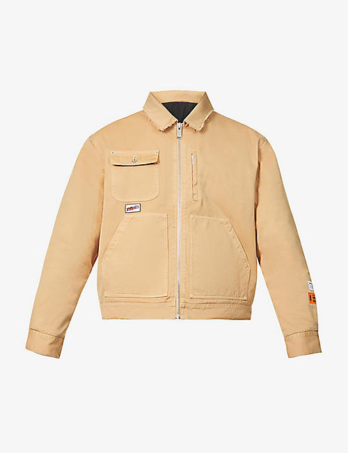 HERON PRESTON: Uniform cotton jacket