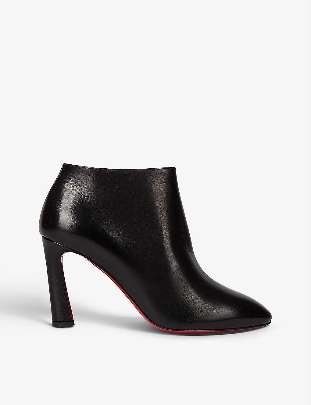 CHRISTIAN LOUBOUTIN: Eleonor 85 calf black