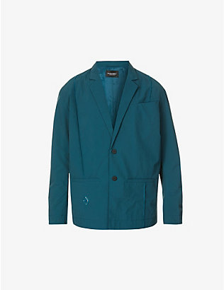 A-COLD-WALL: Rhombus single-breasted shell blazer