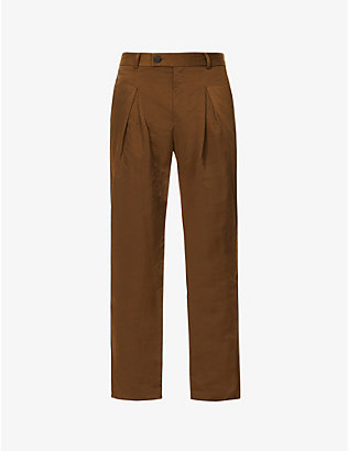 A-COLD-WALL: Tapered woven trousers