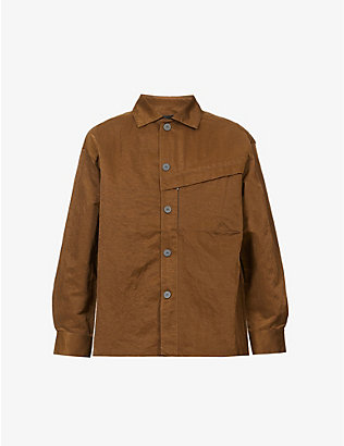 A-COLD-WALL: Boxy-fit long-sleeved shell overshirt