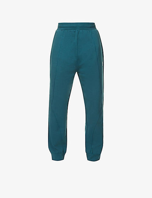 A-COLD-WALL: Embroidered cotton-jersey jogging bottoms
