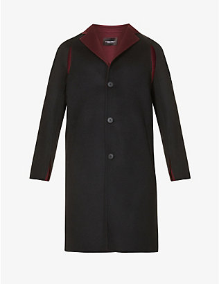 A-COLD-WALL: Double-faced wool overcoat