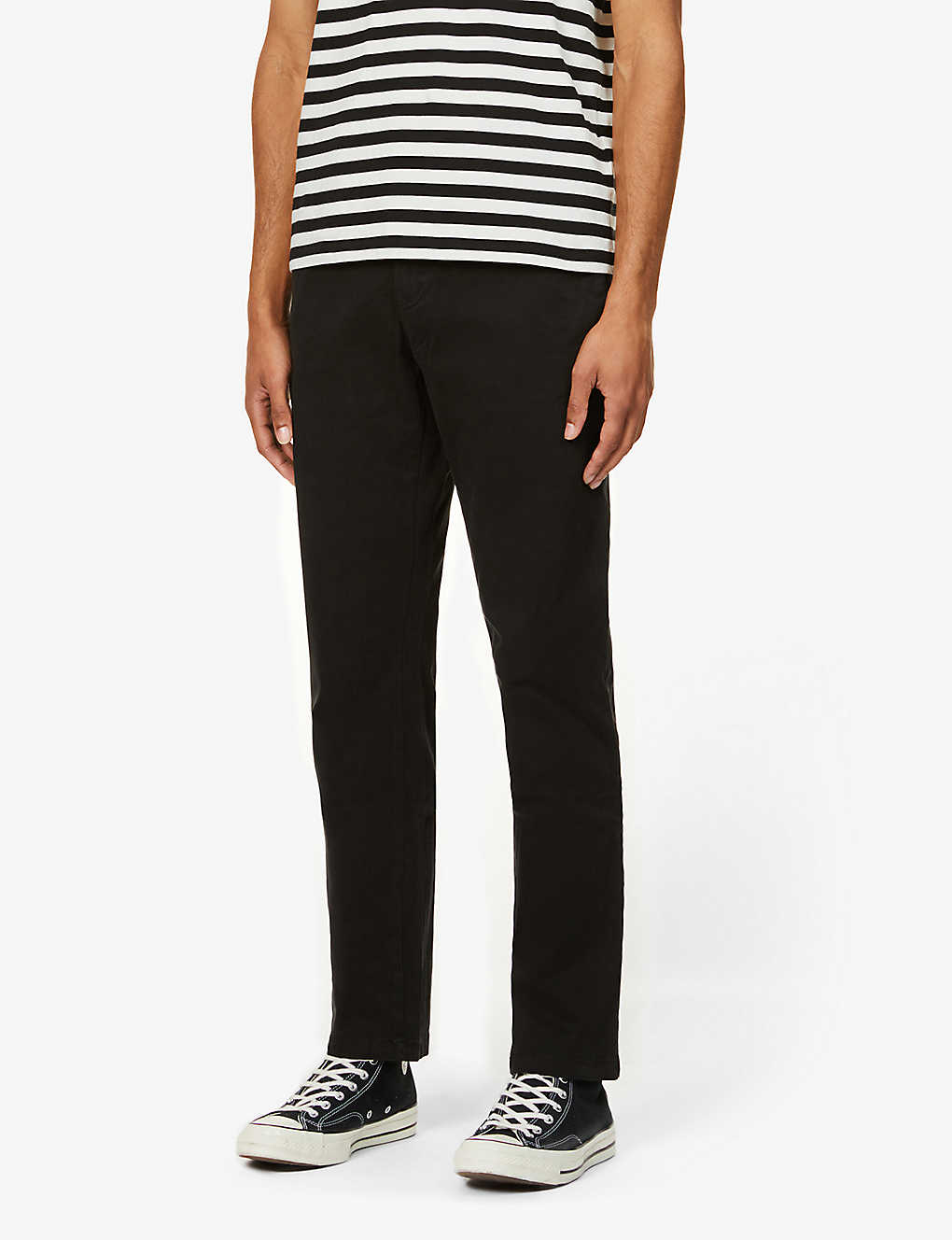TOMMY HILFIGER: Denton slim stretch-cotton trousers