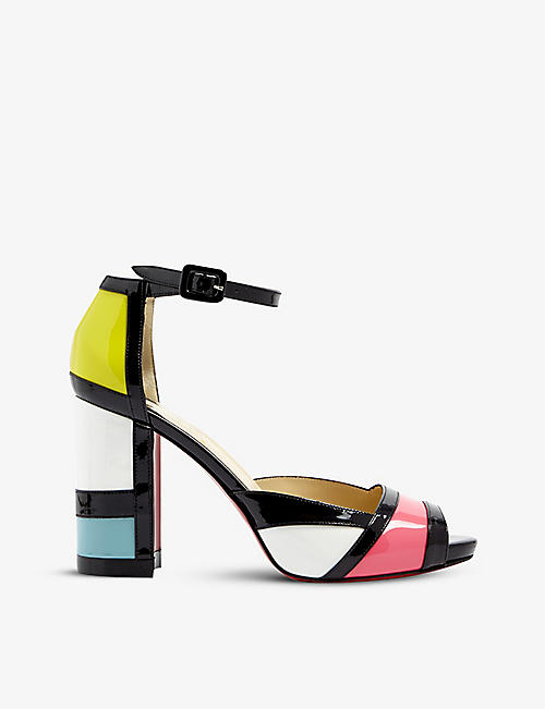 CHRISTIAN LOUBOUTIN: Mondiri 100 patent version multi