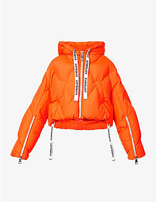 KHRISJOY: Khris padded shell-down jacket