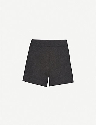 LUNYA: Restore mid-rise cotton-blend shorts