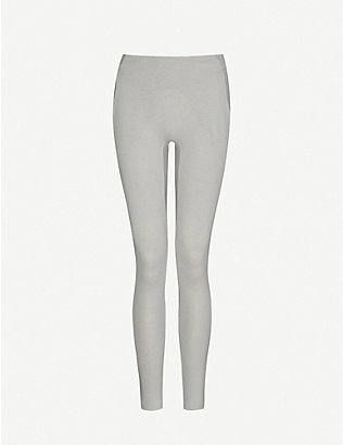 LUNYA: Restore mid-rise cotton-blend leggings