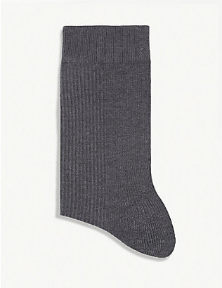 LUNYA: Restore cotton-blend socks