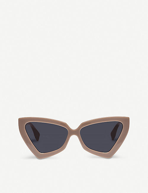 LE SPECS: Rinky Dink cat eye-frame sunglasses