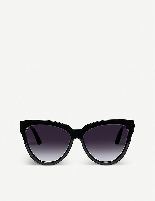 LE SPECS: Liar Liar cat eye-frame sunglasses