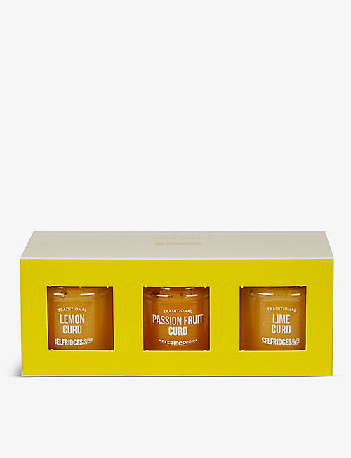 SELFRIDGES SELECTION: Mini Curd Trio 3x115g