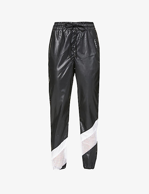 KORAL: Adai Vento tapered-leg mid-rise shell trousers