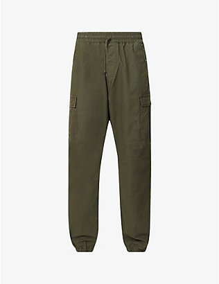 CARHARTT WIP: Utility cotton-twill jogging bottoms