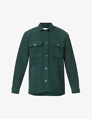 CARHARTT WIP: Owen wool-blend shirt jacket
